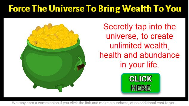 pot of gold graphic for money manifestation - click here